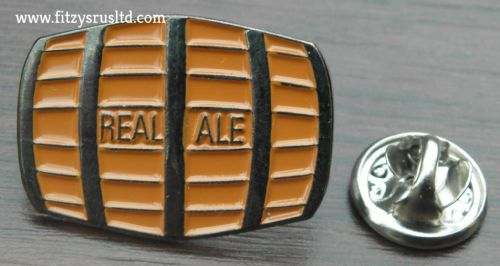 Beer Barrel Lapel Hat Tie Cap Pin Badge Real Ale Breweriana Gift Hen Stag Brooch